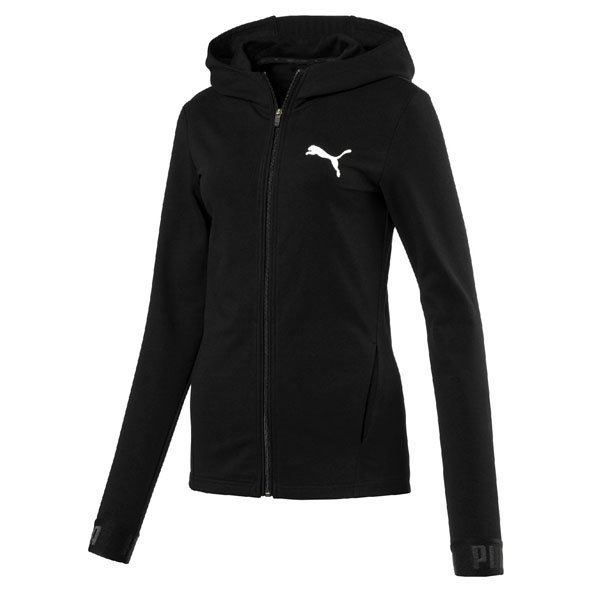 Puma Urban Sport Women's Full Zip Hoody, Black