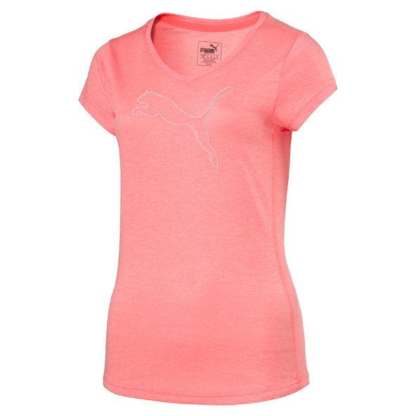 Puma Heather Cat Wmn Tee Peach