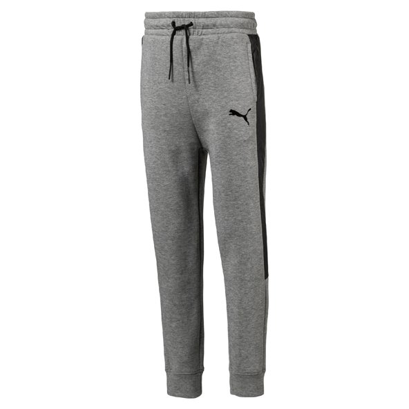 Puma Evo Graphic Boys Pants Grey/Htr