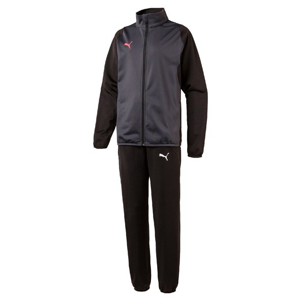Puma Training Poly Boys T Suit Blk/Ebony