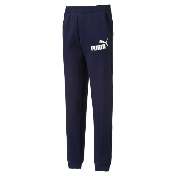 Puma Cuff Fleece Boys Jog Pant, Navy