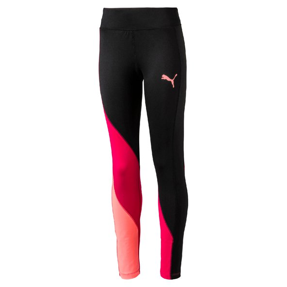 Puma Soft Sport Girls Leggings Black