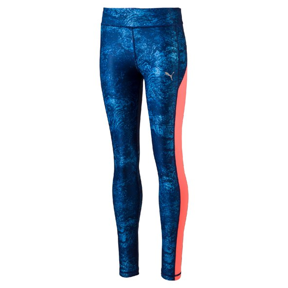 Puma Training AOP Girls Tight Blue