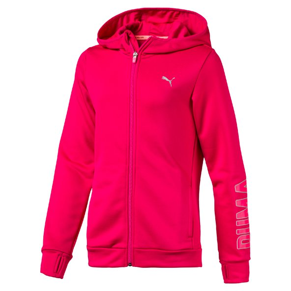Puma Training FZ Girls Hoody Love Potion