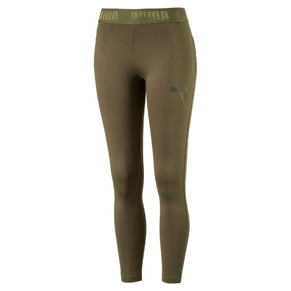 Puma Active Essential Branded Women's Legging, Green