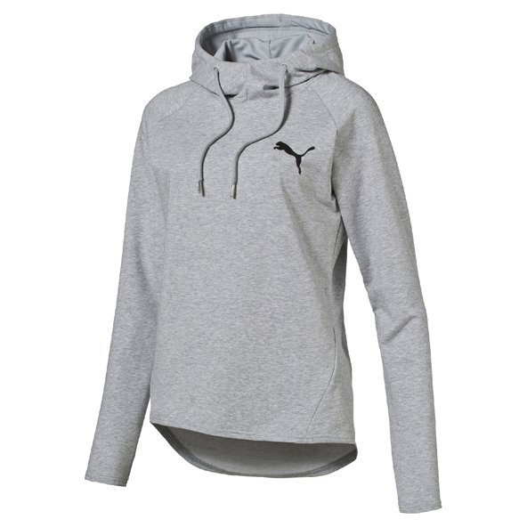 Puma Active ESS Cover up Hoody Grey/Htr