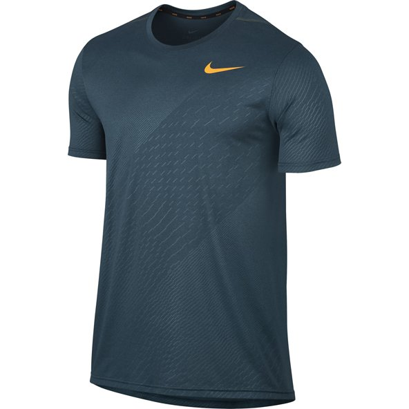 Nike Emb Legend Tech Mens Top Blue/Org