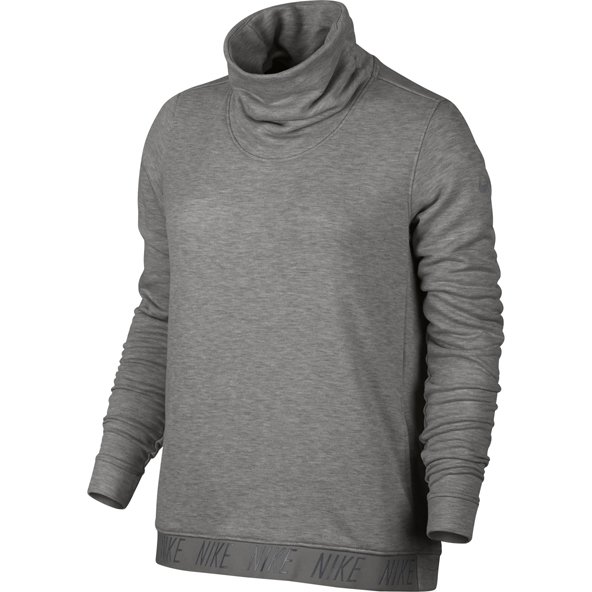 Nike Dry Cowl Neck Women's Top, Grey