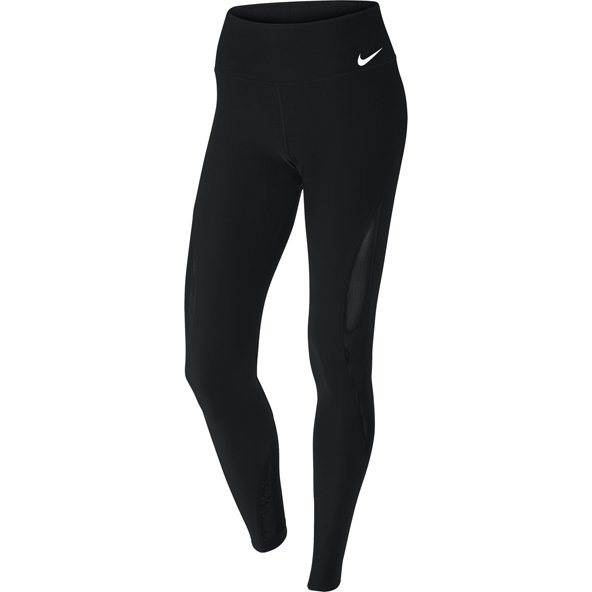 Nike Power Poly Mesh Wmn Tight P Wine
