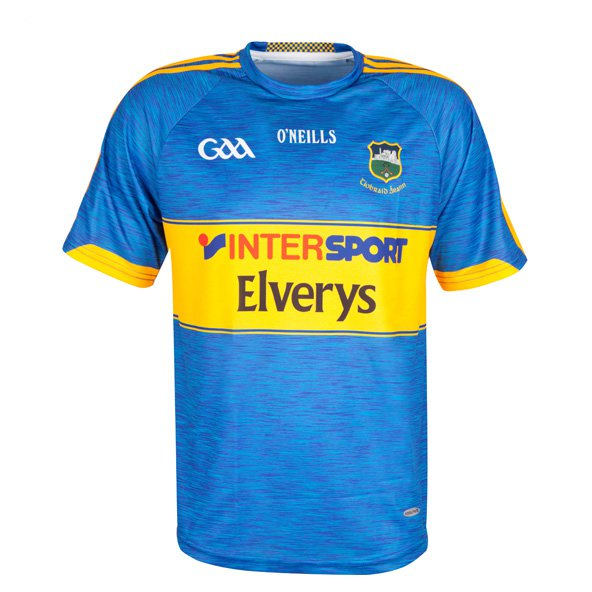 O'Neills Tipperary 2017 Kids' Home Jersey, Blue