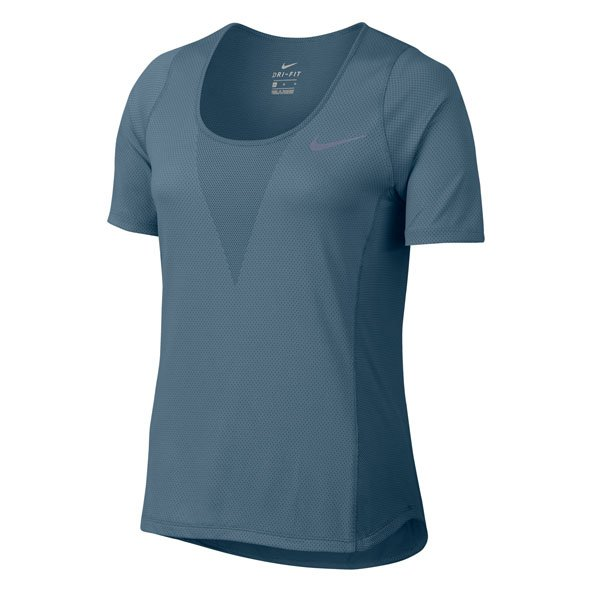 Nike ZNL CL Relay Wmn SS Top Blue/Silv