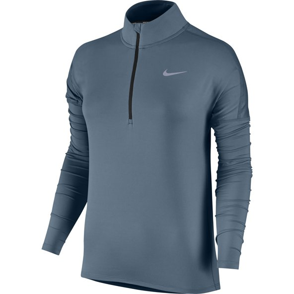 Nike Dry Element HZ Wmn Top Blue/Silv