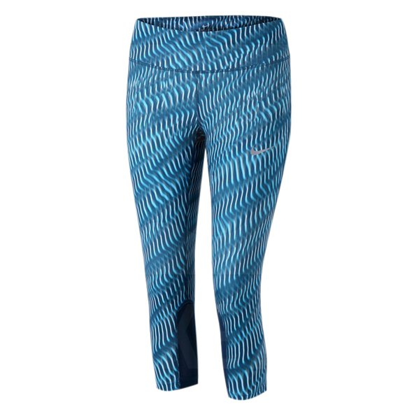 Nike Power Epic Run Wmn Tight Blue/Htr