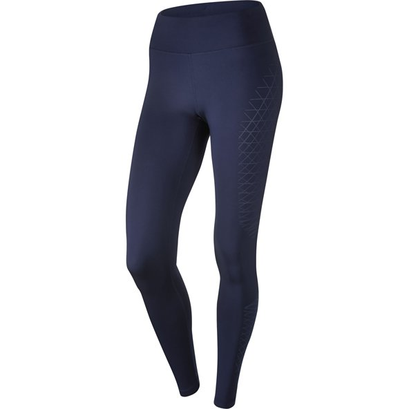 Nike Power Racer Wmn Tight Blue/Silv