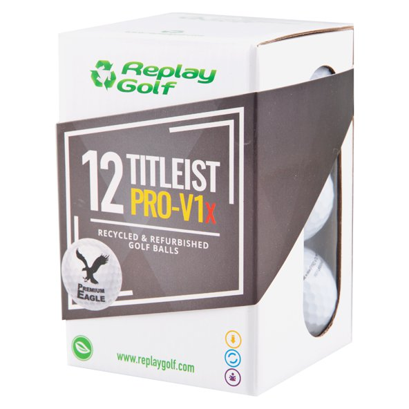 Replay Golf Titleist Pro V1x - 12 Golf Balls