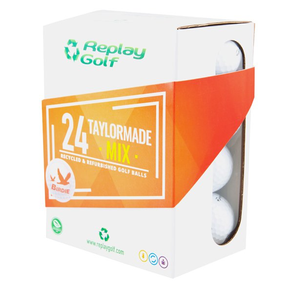 Replay Golf TaylorMade Mix - 24 Golf Balls