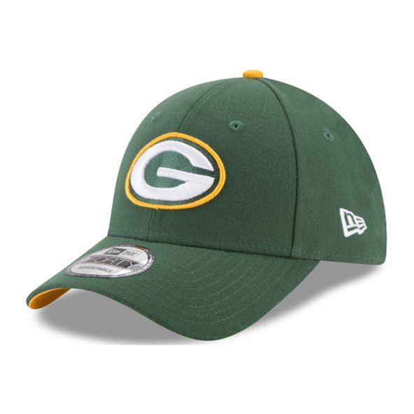 NewEra 9Forty Green Bay Packers Cap, Green