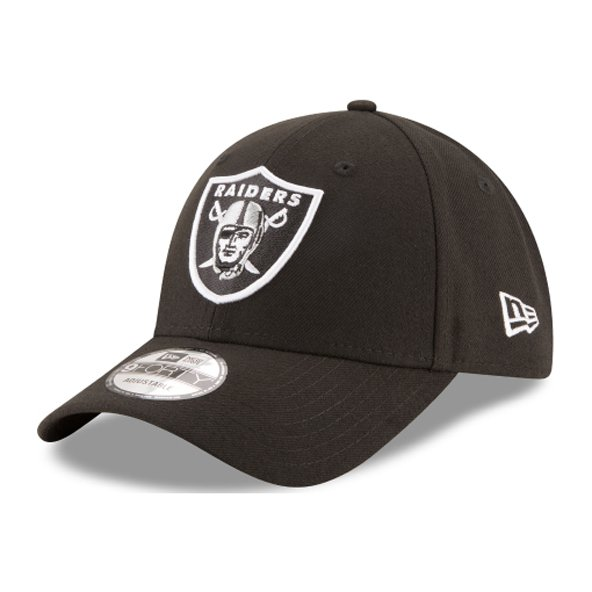 NewEra 9Forty Oakland Raiders Cap, Black