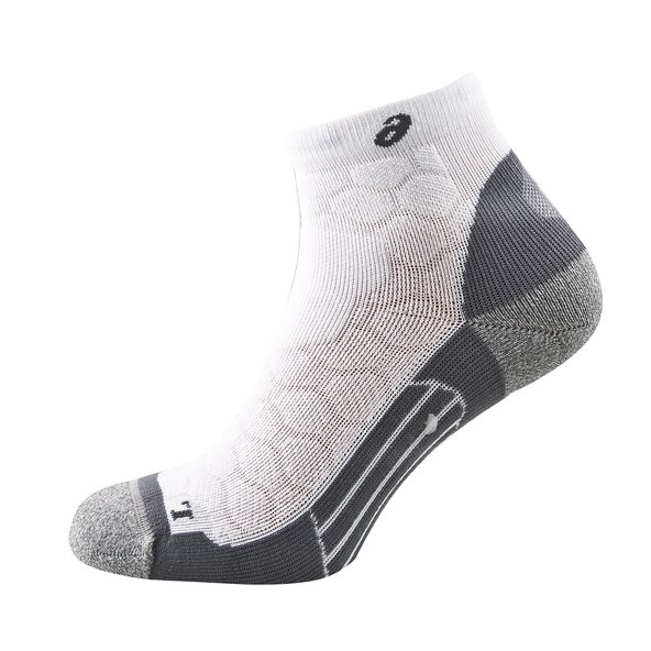 Asics Road Quarter Men Sock White
