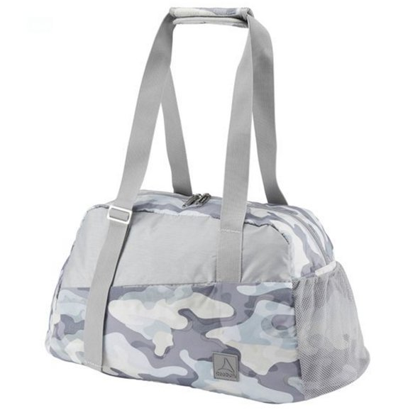 Reebok Lead and Go Grip Duffle Bag Grey