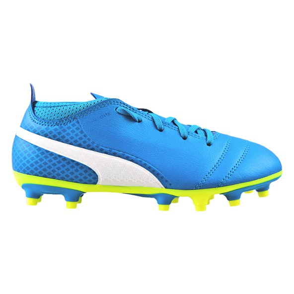Puma ONE 17.4 Kids' FG Football Boot, Blue