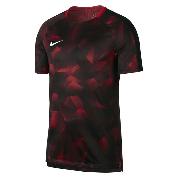 Nike Dry Squad Men's Football T-Shirt, Red