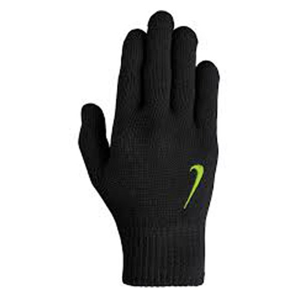 Nike Swoosh Knit Kids Gloves Black