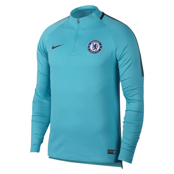 Nike Chelsea 2017/18 CL Squad Top, Blue