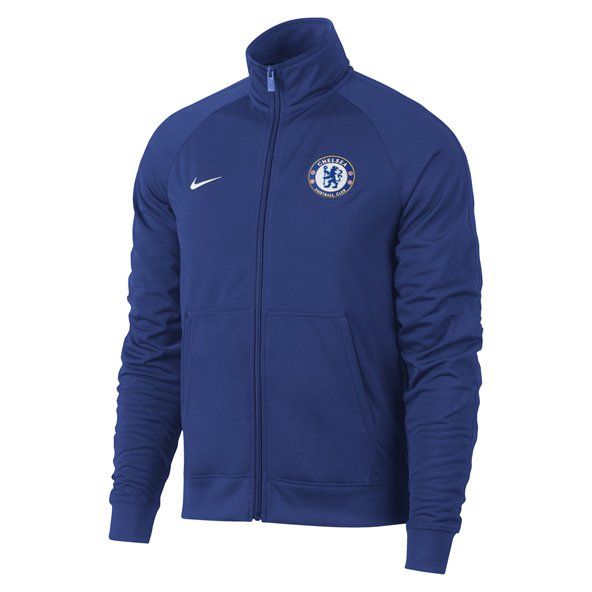 Nike Chelsea 2017/18 CL Squad Jacket, Blue