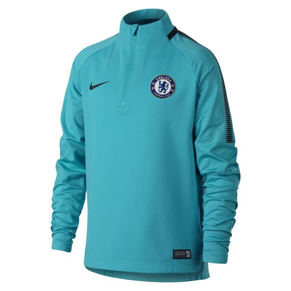 Nike Chelsea 2017/18 Kids' CL Squad Top, Blue