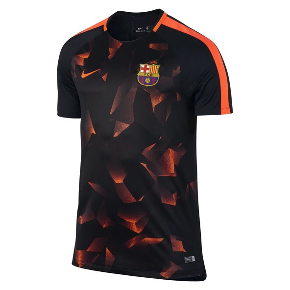 Nike FC Barcelona 2017 Champions League Squad Tee Black