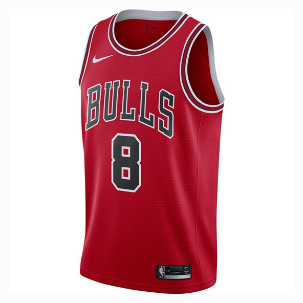Nike Chicago Bulls Jersey - Lavine 8, Red