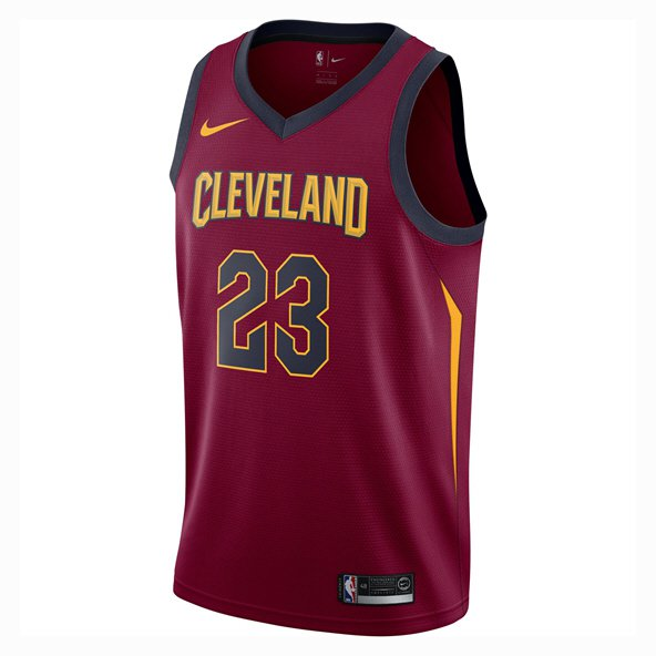 Nike Cleveland Cavaliers Kids' Jersey - James 23, Red