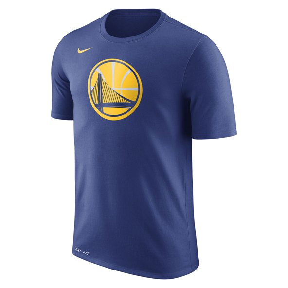 Nike GS Warriors Logo Tee Blue