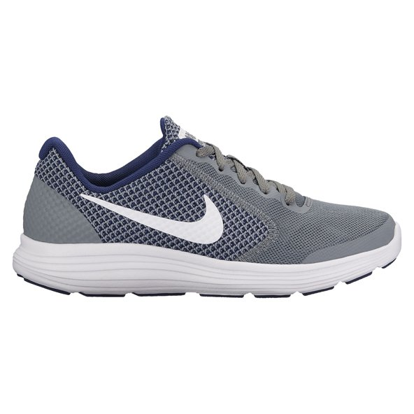 Nike Revolution 3 Boys' Running Shoe, Grey