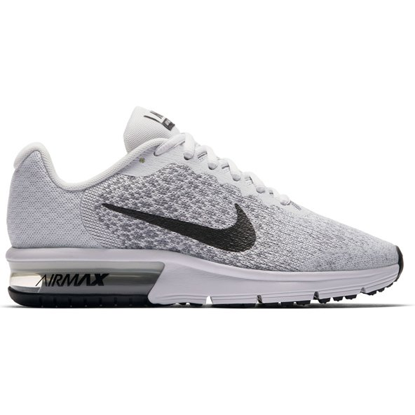 Nike Air Max Sequent 2 Boys' Trainer, Platinum