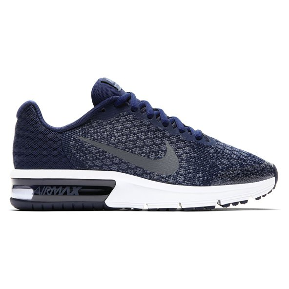 Nike Air Max Sequent 2 Boys' Trainer, Blue