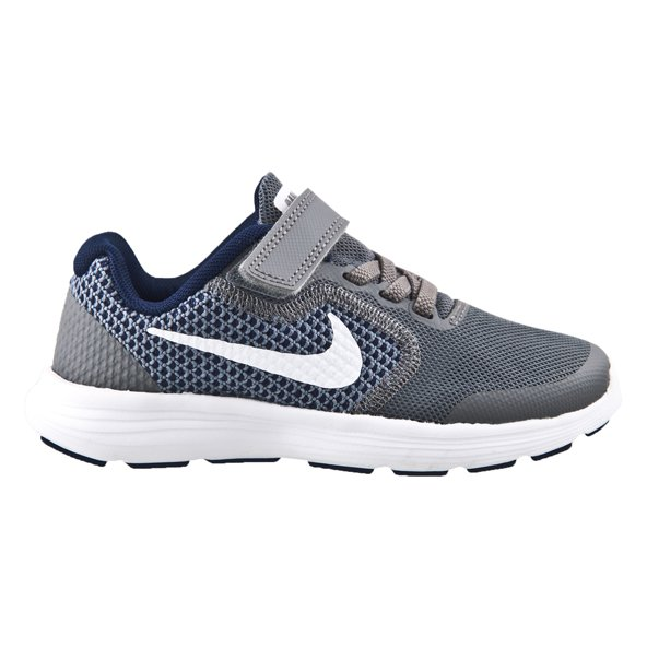 Nike Revolution 3 Junior Boys' Trainer, Grey