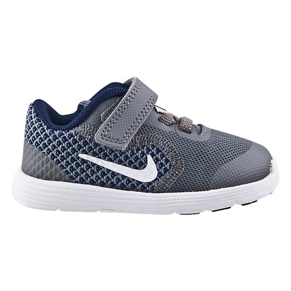 Nike Revolution 3 Infant Boys' Trainer, Grey