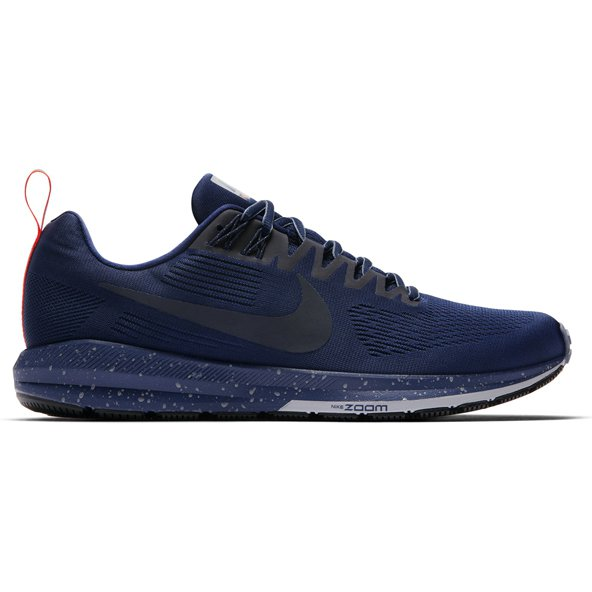 Nike Air Zoom Structure 21 Shield Men's Running Shoe, Blue