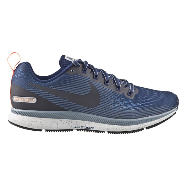 Nike Air Zoom Pegasus 34 Shield Men's Running Shoe, Blue