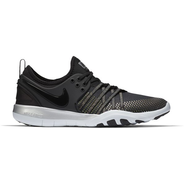Nike Free TR 7 MTLC Women's Training Shoe, Black