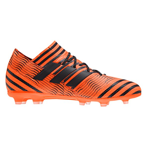 adidas Nemeziz 17.1 Kids' FG Football Boot, Orange
