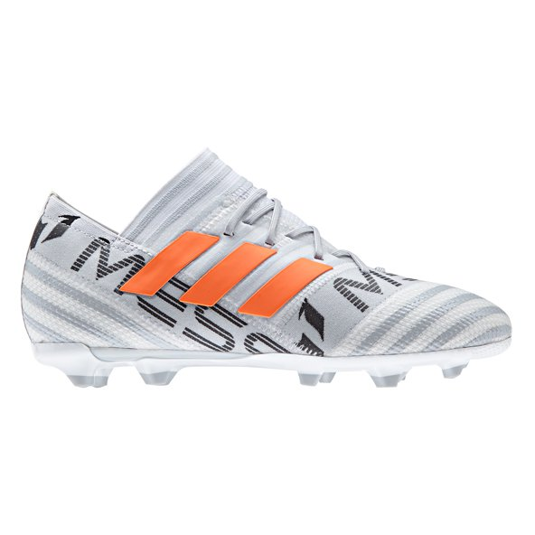 adidas Nemeziz 17.1 FG Kids' Football Boot, White