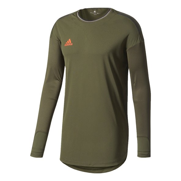 adidas Tango Men's Long Sleeve T-Shirt, Green