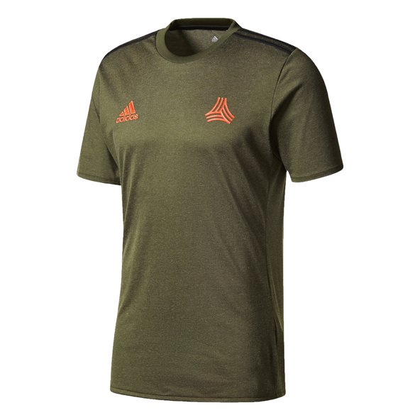 adidas Tango Men's T-Shirt, Green