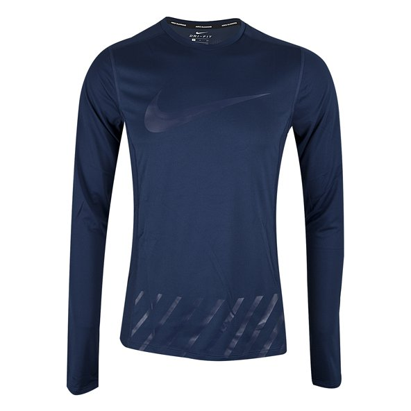Nike Dry Miler GX Men's Running Top, Blue