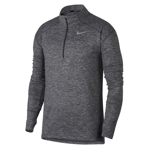 Nike Dry Element Men's ½ Zip Running Top, Grey