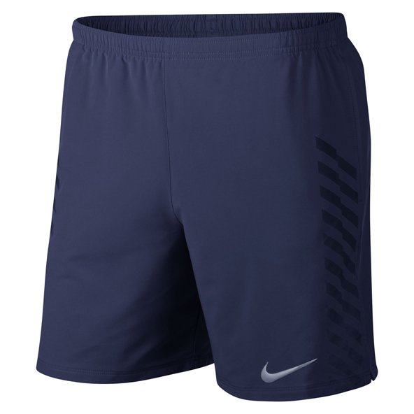 Nike Men's Distance Flash Men's Running Short, Blue