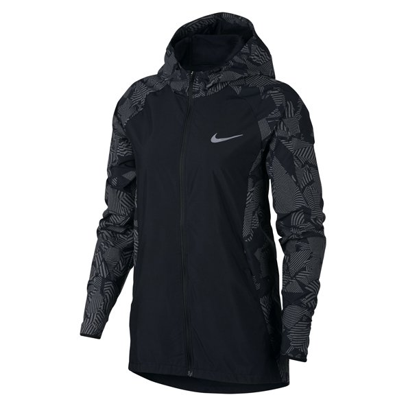 Nike Essential Flash Running Women's Jacket, Black